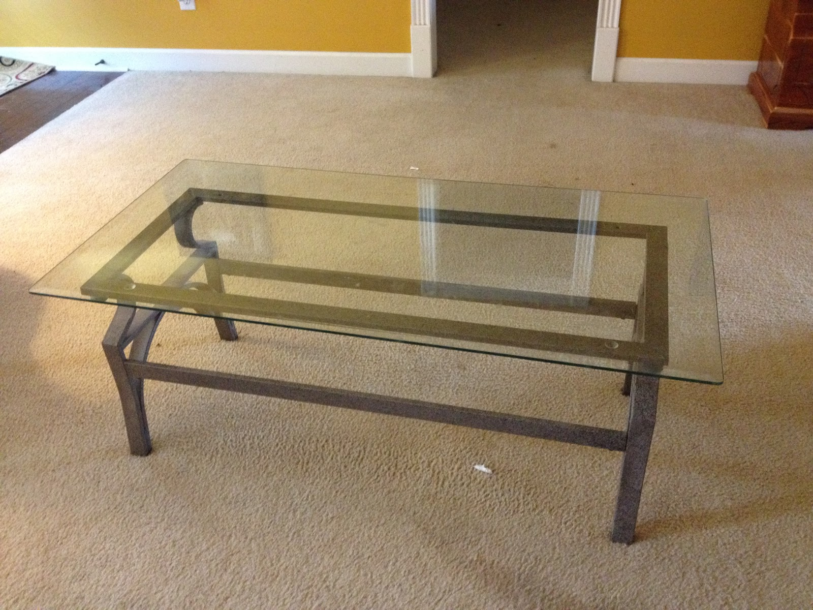 Diy Glass Top Coffee Tables